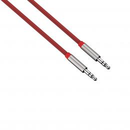 Hama audio kabel jack-jack Color Line, 1 m, èervený
