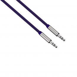 Hama audio kabel jack-jack Color Line, 1 m, modrý