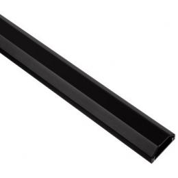 Hama aluminium Cable Duct, black, 110 cm