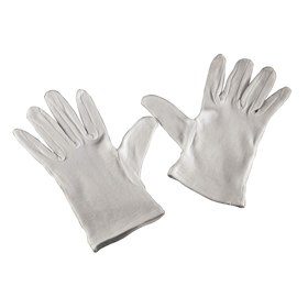 Hama cotton Gloves, size L, 1 pair