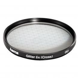 Hama filtr Gitter/Cross Screen 6x, 52,0 mm