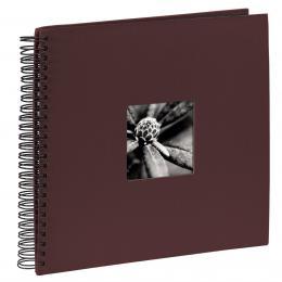 Hama album klasické spirálové FINE ART 36x32 cm, 50 stran, bordó