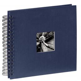 Hama album klasické spirálové FINE ART 28x24 cm, 50 stran, modré
