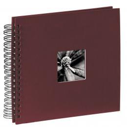 Hama album klasické spirálové FINE ART 28x24 cm, 50 stran, bordó