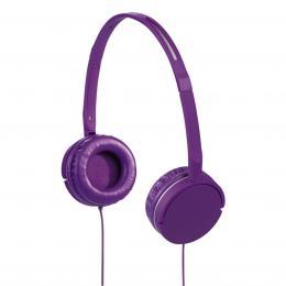 Hama sluchátka s mikrofonem Joy Slim, uzavøená, fialová