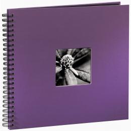 Hama album klasické spirálové FINE ART 36x32 cm, 50 stran, lila