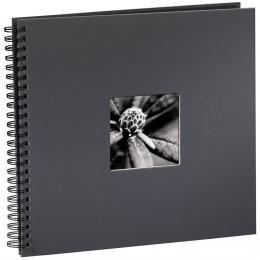 Hama album klasické spirálové FINE ART 36x32 cm, 50 stran, šedé