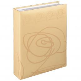 Hama album memo WILD ROSE 10x15/200, béžové, popisové štítky