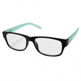 Filtral ètecí brýle, plastové, èerné/tyrkysové,  1.0 dpt