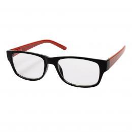 Filtral ètecí brýle, plastové, èerné/èervené,  1.0 dpt