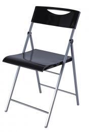 Skládací židle SMILE èerná 2ks
