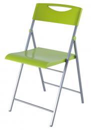 Skládací židle SMILE svìtle zelená 2ks