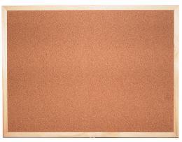 Korková tabule jednostranná 120 x 90 cm