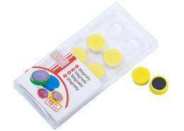 Magnety ARTA prùmìr 16mm, žluté (10ks v balení)