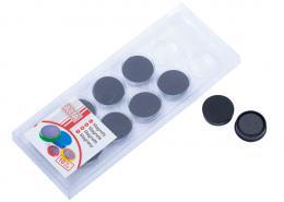 Magnety ARTA prùmìr 25mm, èerné (10ks v balení)