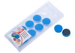 Magnety ARTA prùmìr 25mm, modré (10ks v balení)