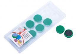 Magnety ARTA prùmìr 25mm, zelené (10ks v balení)