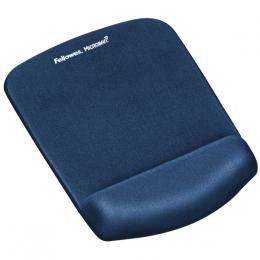 Podložka pod myš a zápìstí Fellowes PlushTouch modrá - zvìtšit obrázek