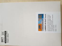 Laminovací fólie A4-100 mic. Matné Soft Touche - zvìtšit obrázek