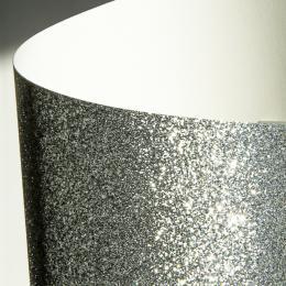 Galeria Papieru tøpytivý papír støíbrná 210g, 5ks