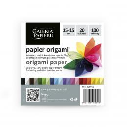 Galeria Papieru origami papír barevný 15x15cm, 100ks