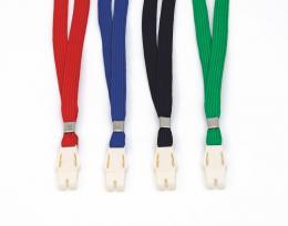 textilní pásek s trojzubcem zelená, 50ks