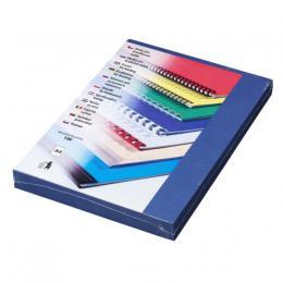 Desky Linen A4 tmavì modré