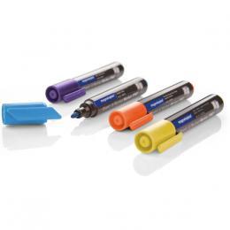 Popisovaè Magnetoplan barvy sada  Pro, svìtle modrá, fialová, žlutá, oranžová