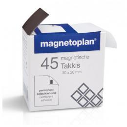 Samolepící magnety Magnetoplan Takkis (45ks)