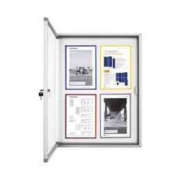 Vitrína magnetická Magnetoplan elegant venkovní 6 x A4 - zvìtšit obrázek