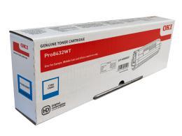 Toner pro OKI Pro8432WT - cyan