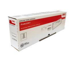 Toner pro OKI Pro8432WT - white
