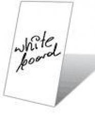 Deska bílá magnetická pro popis popisovaèem, A0