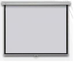 Profi manual 240 x 240 cm - projekèní plátno na zeï manuální