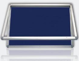 Venkovní vitrína, filc, 75 x 101 cm
