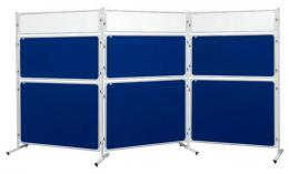 Panel Modular 2x3 s výplòí z èirého plexi - 120 x 120 cm