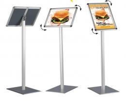 Informaèní tabule na stojanu 100 cm, A4 na šíøku i výšku