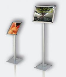 Informaèní tabule na stojanu, výška 120, A3 na šíøku
