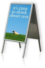 Tabule plakátová na stojanu, A1