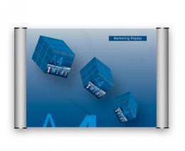 Dveøní a informaèní tabulka 210x148mm - formát A5 - síla profilu 25 mm