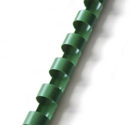 plastový høbet 8mm zelená 100ks