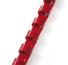 plastový høbet 12,5mm èervená 100ks