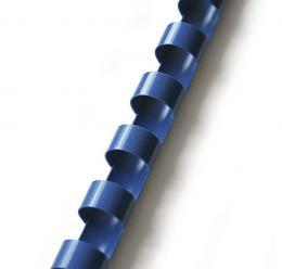 plastový høbet 22mm modrá 50ks