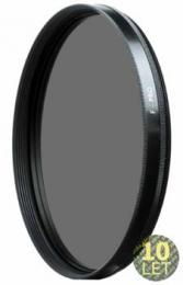 B W cirkulárnì polarizaèní filtr 72mm MRC