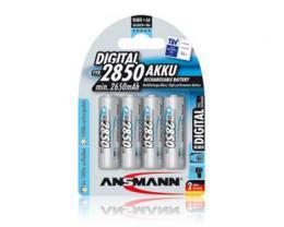 Ansmann Mignon NiMH 4xAA 2850mAh DIGITAL BL4, 4 kusy baterie