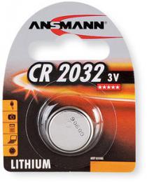 Ansmann knoflíková lithiová baterie CR 2032
