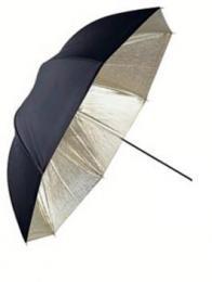 Linkstar PUR-102GB odrazný deštník 102cm (zlatá/èerná)