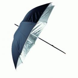 Linkstar PUR-102SB odrazný deštník 102cm (støíbrná/èerná)