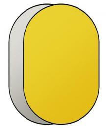 Linkstar R-71112GS odrazná deska 2v1 71x112cm (zlatá/støíbrná)