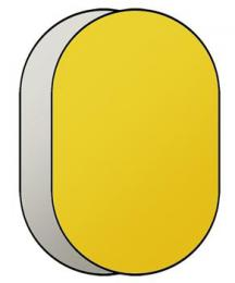 Linkstar R-90120GS odrazná deska 2v1 90x120cm (zlatá/støíbrná)